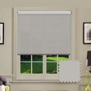 Light Grey Roller Blind - Astral Maylar